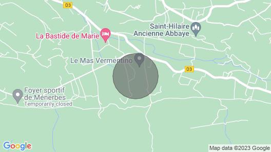 Holiday Home, Ménerbes Map