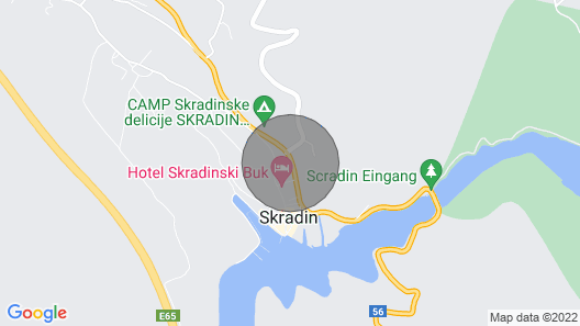 Beautiful Home in Skradin With Outdoor Swimming Pool, Wifi and 3 Bedrooms Map