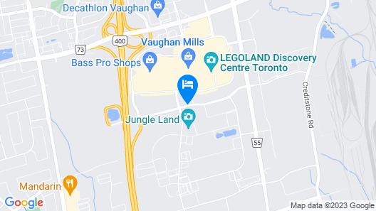 Aloft Vaughan Mills Map