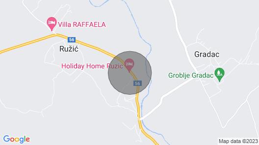 3 Bedroom Accommodation in Ruzic Map