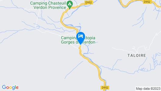 Huttopia Gorges du Verdon Map