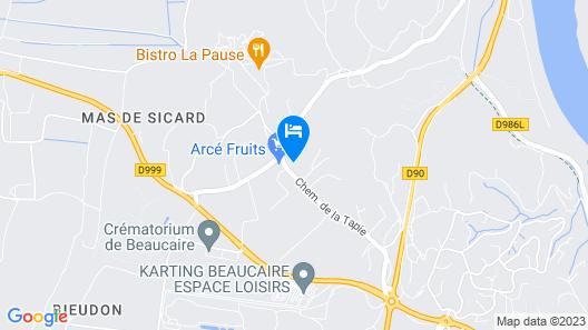 House / Villa - Beaucaire Map