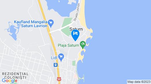 Hotel Cerna Map