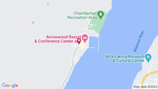 Arrowwood Resort at Cedar Shore Map