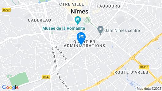Appart-hôtel Résidence la Servie Map
