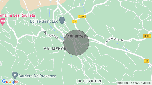 A Room in the Heart of Ménerbes: Charm and Private Terrace .. Map