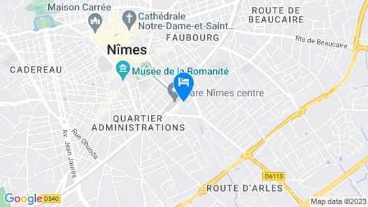 ibis Styles Nimes Gare Centre Map