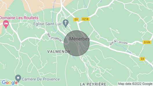 1 Bedroom Accommodation in Menerbes Map