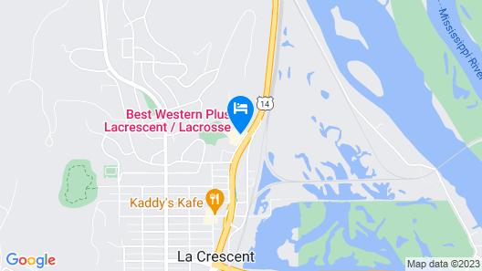 Best Western Plus at La Crescent Event Center Map