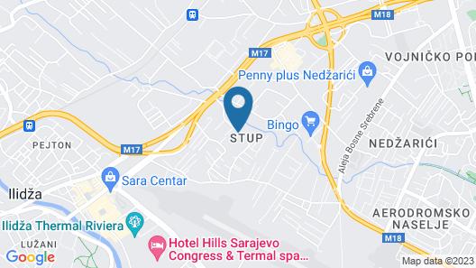 Brass Hotel Map