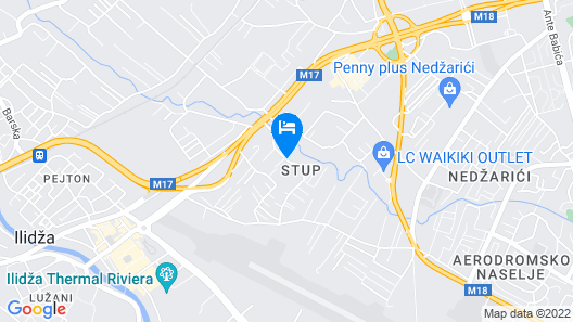 Hotel by GastroID Map