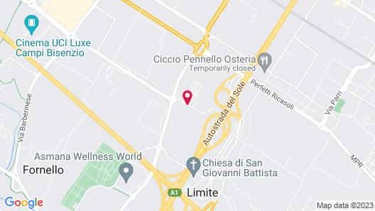Hotel 500 Firenze Map