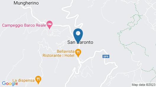 Hotel Monti Map