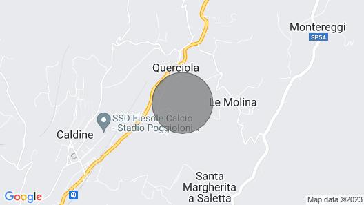 Agriturismo Montereggi - Ferienwohnung für 2/3 Personen mit Garten und Pool Map