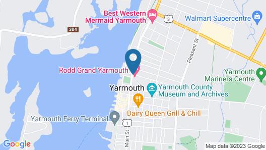 Rodd Grand Yarmouth Hotel Map