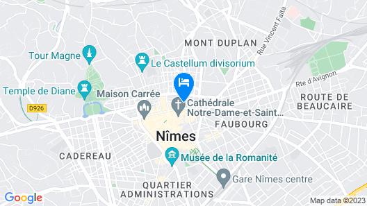 Best Western Le Marquis de La Baume Map