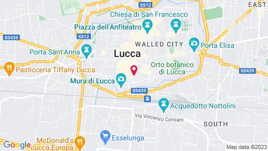 Albergo San Martino Map
