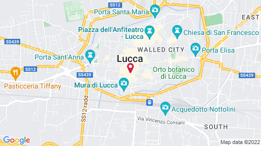 Grand Universe Lucca, Autograph Collection Map