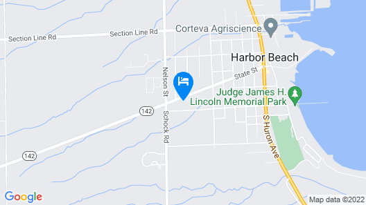 Harbor Beach Inn Map