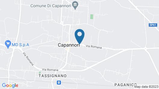 Corte Capitani Map