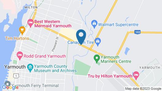 Tru By Hilton Yarmouth Map