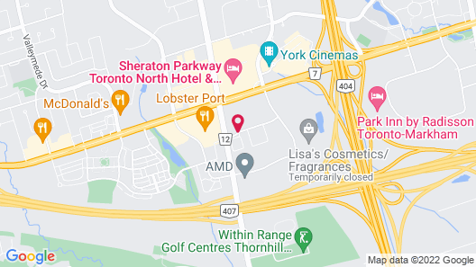 Residence Inn by Marriott Toronto Markham Map