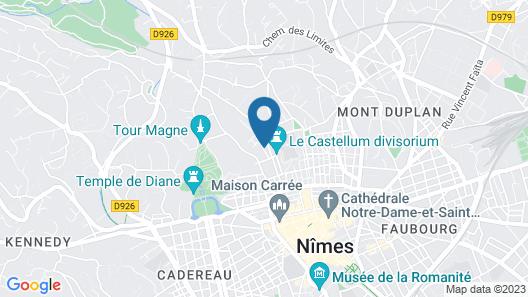 Villa Meridia Map