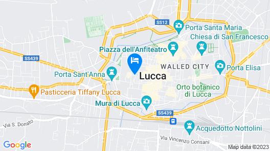 La Tosca rooms Map