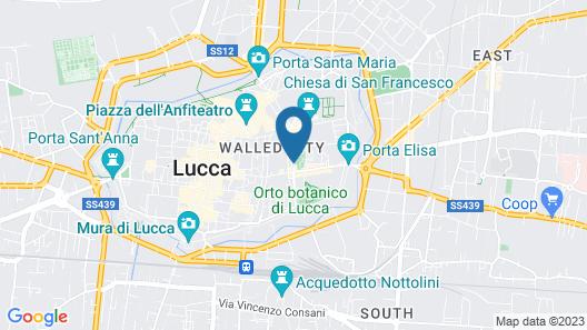 Hotel Ilaria Map