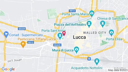 San Luca Palace Hotel Map