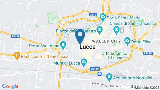Palazzo Dipinto Map