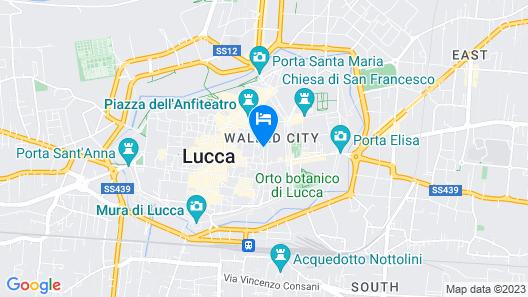 Palazzo Guinigi Rugiada Map
