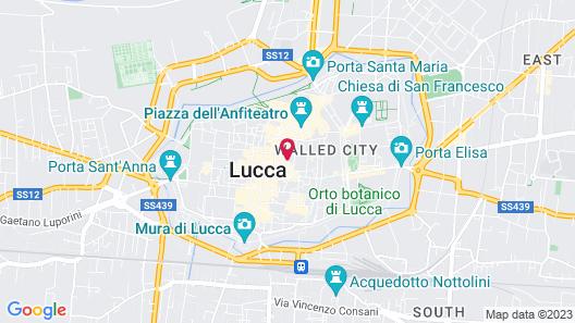 La Romea Residenza d'Epoca Map
