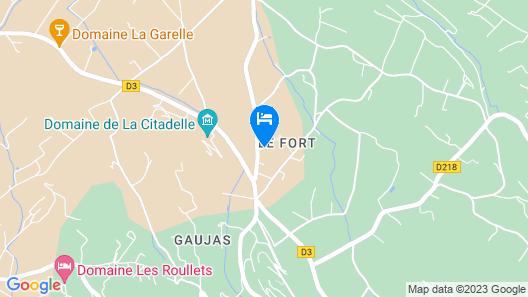 Hostellerie le Roy Soleil Map