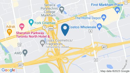 Park Inn By Radisson Toronto - Markham Map