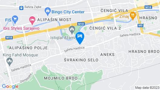 Hostel Gonzo Map