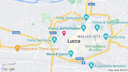 Palazzo Alexander Hotel Map