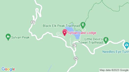 Sylvan Lake Lodge at Custer State Park Resort Map