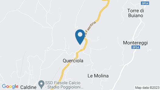 Villa di Campolungo Agriturismo Map