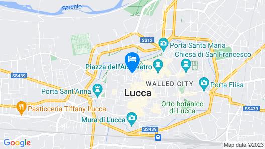 Locanda Sant'Agostino Map