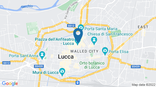 Anfiteatro Bed and Breakfast Map