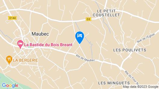Le Mas des Lônes Map