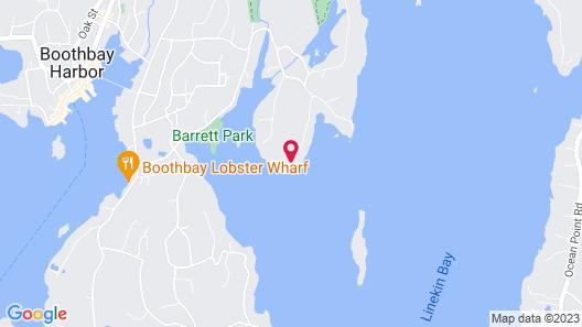 Linekin Bay Resort Map