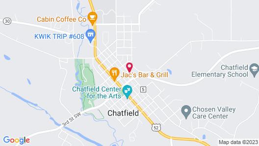 Oakenwald Terrace Map