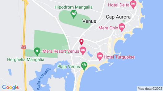 Hotel Thasos Map
