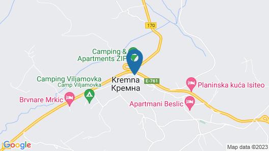 Lovely 2bed Apartment Krem Near National Park Tara Map