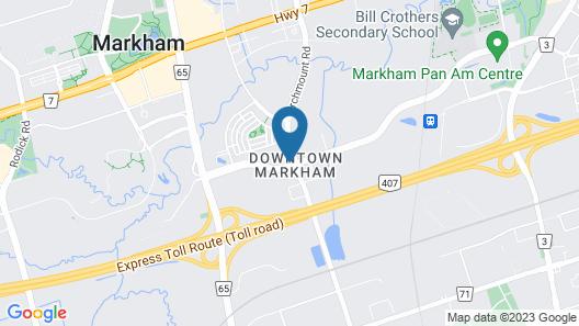 Toronto Marriott Markham Map