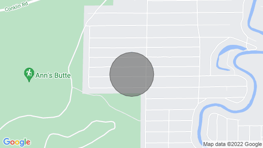 In the heart of Central Oregon Recreation Paradise Map