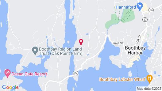 Beach Cove Waterfront Inn Map