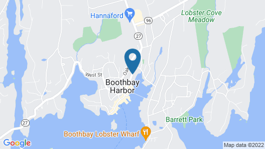 Harbour Towne Inn on the Waterfront Map